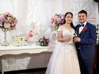 El matrimonio de Cristian y Paola
