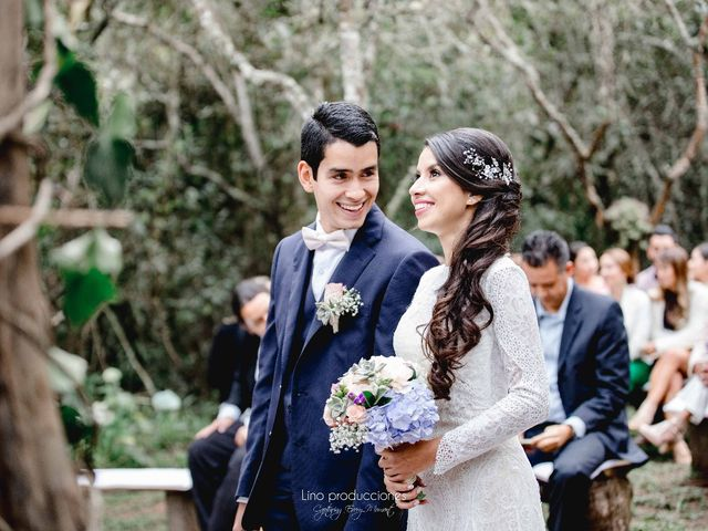 El matrimonio de Sebastián y Paula