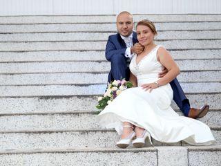 El matrimonio de Alejandro y Nathaly