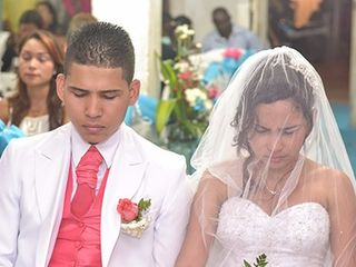 El matrimonio de Silvy y Franklin 3