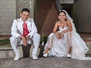 El matrimonio de Silvy y Franklin