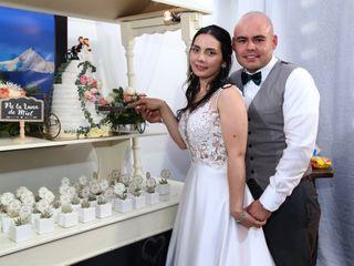 El matrimonio de Neyari y Ricardo