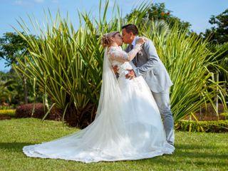 El matrimonio de Estefania y Erik