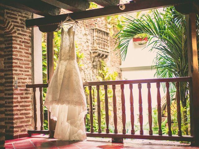 El matrimonio de Fabio y Johanna en Cartagena, Bolívar 2