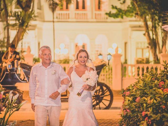 El matrimonio de Fabio y Johanna en Cartagena, Bolívar 16
