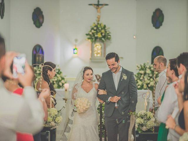 El matrimonio de Fabio y Johanna en Cartagena, Bolívar 26