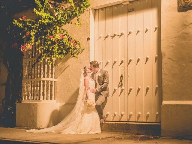 El matrimonio de Fabio y Johanna en Cartagena, Bolívar 30