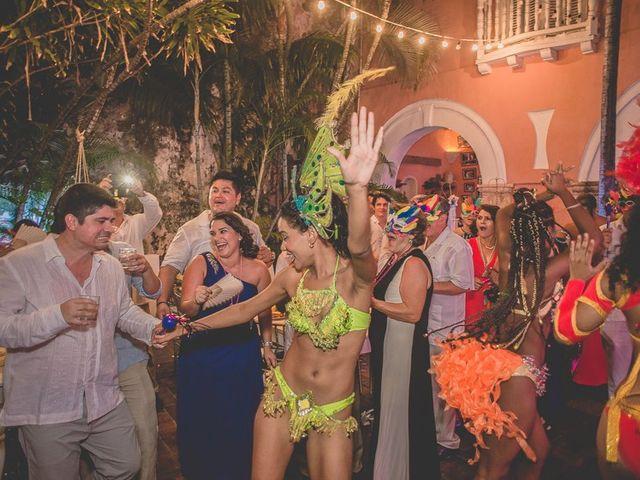 El matrimonio de Fabio y Johanna en Cartagena, Bolívar 34