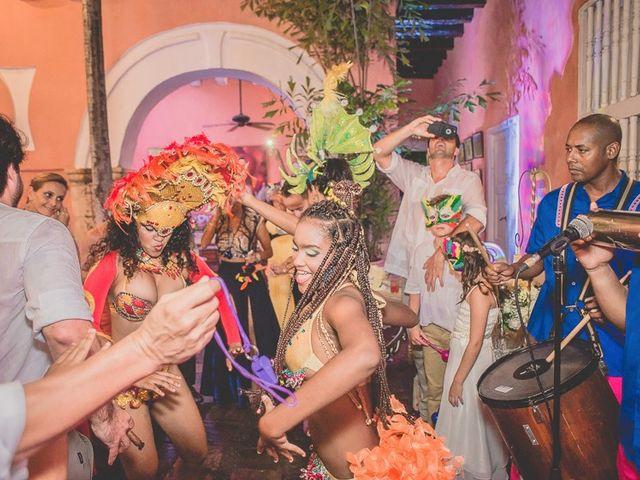 El matrimonio de Fabio y Johanna en Cartagena, Bolívar 36