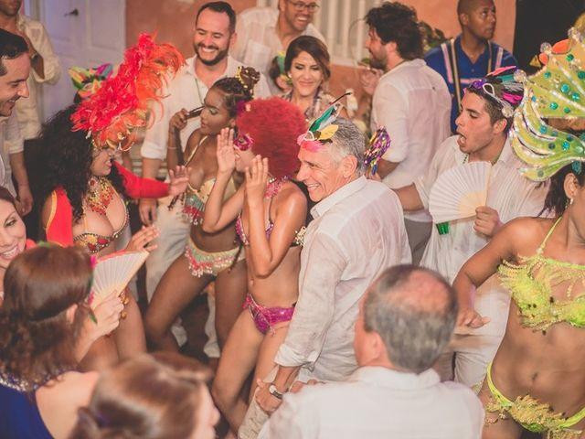 El matrimonio de Fabio y Johanna en Cartagena, Bolívar 37