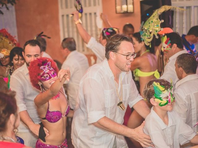 El matrimonio de Fabio y Johanna en Cartagena, Bolívar 39