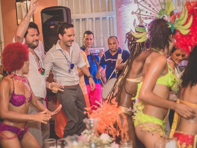 El matrimonio de Fabio y Johanna en Cartagena, Bolívar 42
