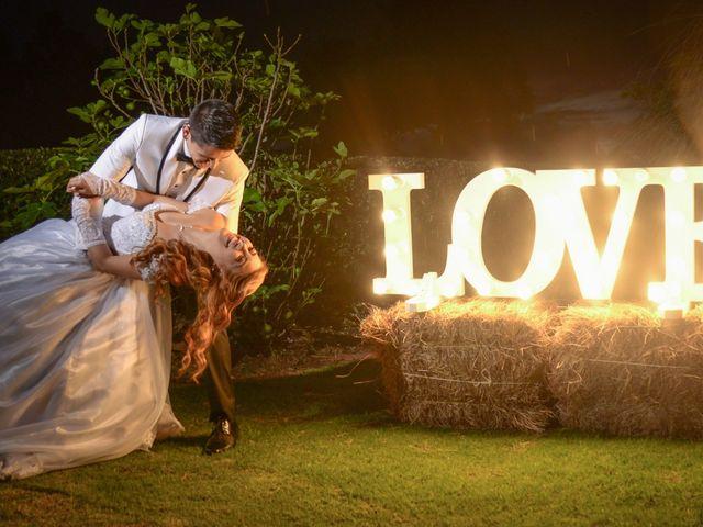 El matrimonio de Lady y Augusto