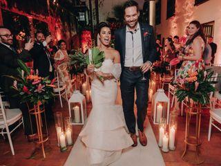 El matrimonio de Aminta y Brent