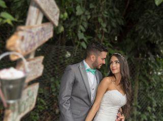 El matrimonio de Natalia y David