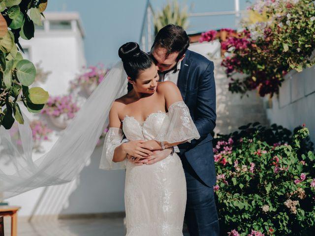 El matrimonio de Brent y Aminta en Cartagena, Bolívar 16