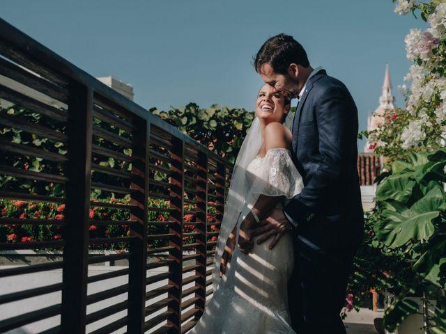 El matrimonio de Brent y Aminta en Cartagena, Bolívar 21