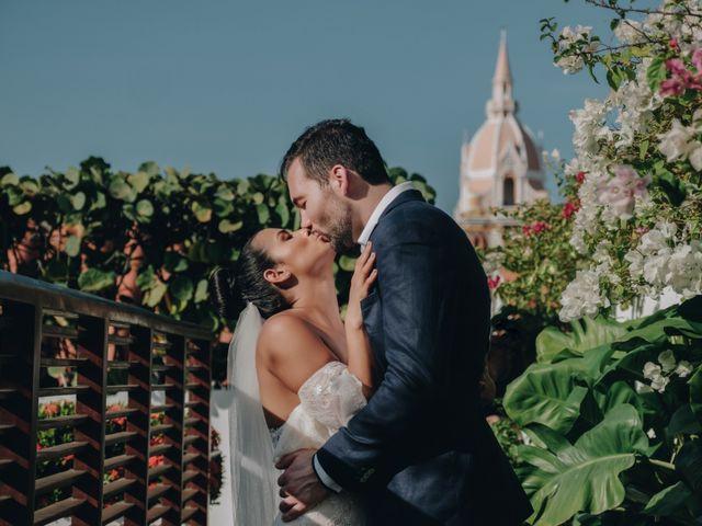 El matrimonio de Brent y Aminta en Cartagena, Bolívar 22