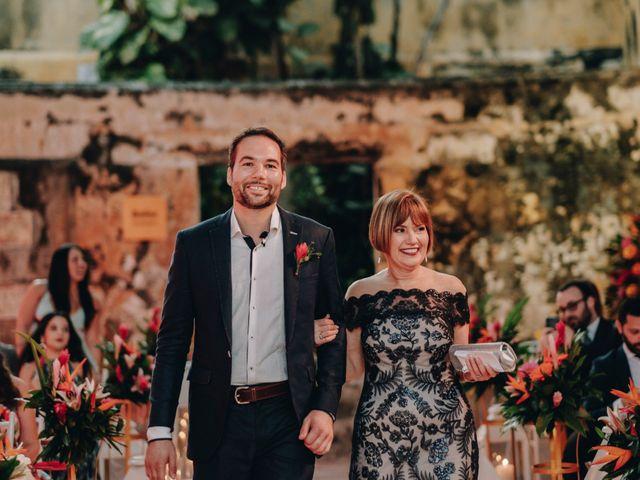 El matrimonio de Brent y Aminta en Cartagena, Bolívar 29
