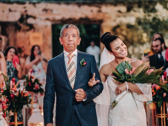 El matrimonio de Brent y Aminta en Cartagena, Bolívar 30