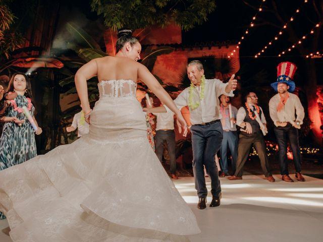 El matrimonio de Brent y Aminta en Cartagena, Bolívar 47