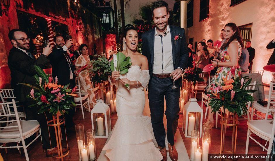 El matrimonio de Brent y Aminta en Cartagena, Bolívar