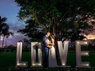 El matrimonio de Andrea y Hernán