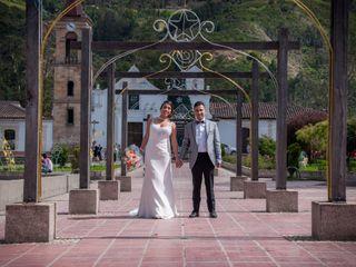 El matrimonio de Paula y Óscar