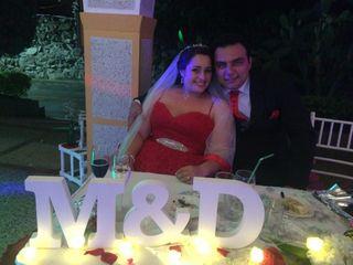 El matrimonio de Mónica  y Diego