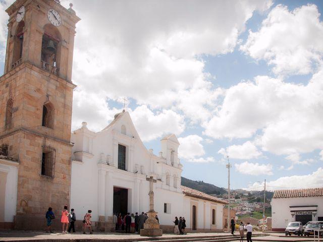 El matrimonio de Óscar y Paula en Gachancipá, Cundinamarca 1