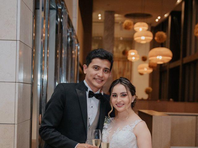 El matrimonio de Daniela y Oswaldo