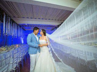 El matrimonio de Saray barrera y Freddy  2