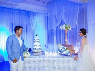 El matrimonio de Saray barrera y Freddy
