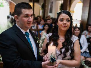 El matrimonio de Mile y Juank