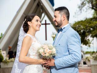 El matrimonio de Cindy y Omar