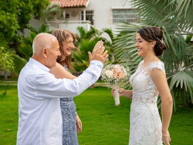 El matrimonio de Omar y Cindy en Santa Marta, Magdalena 11