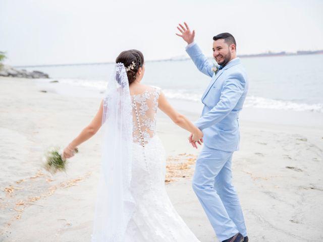 El matrimonio de Omar y Cindy en Santa Marta, Magdalena 15