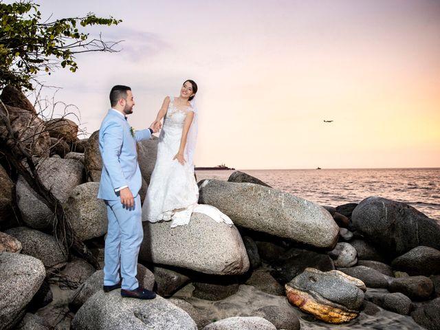 El matrimonio de Omar y Cindy en Santa Marta, Magdalena 1