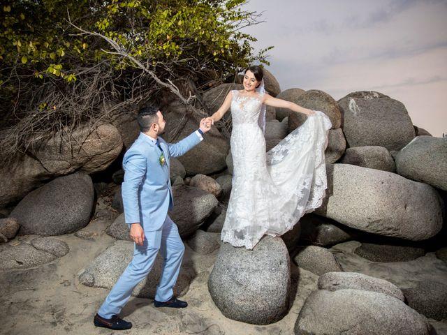 El matrimonio de Omar y Cindy en Santa Marta, Magdalena 2