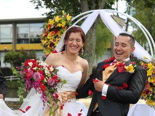 El matrimonio de Andrea y Oswaldo 3