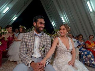 El matrimonio de Jesica y Santiago