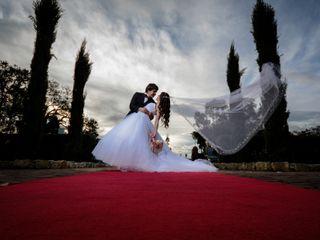 El matrimonio de Andrea y Carlos