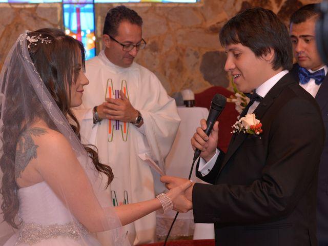 El matrimonio de Carlos y Andrea en Subachoque, Cundinamarca 14