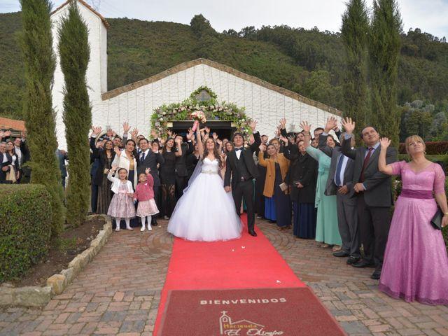 El matrimonio de Carlos y Andrea en Subachoque, Cundinamarca 19
