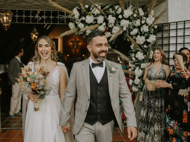 El matrimonio de Caro y Ricky