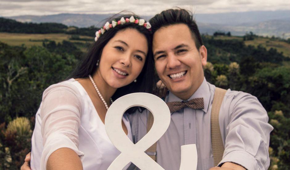 El matrimonio de David  y Jhoana  en Chiquinquirá, Boyacá