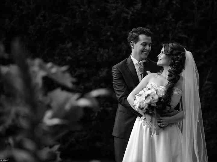 El matrimonio de Andrea y César