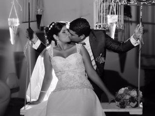 El matrimonio de Adriana y Ruben