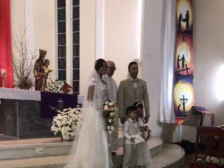 El matrimonio de Rosilene  y Smith  1