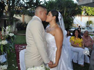 El matrimonio de Cristian Arbelaez y María Fernanda García